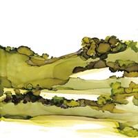 Greenscape I Framed Print