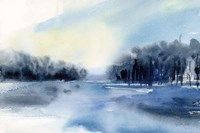 Winter River Fine Art Print