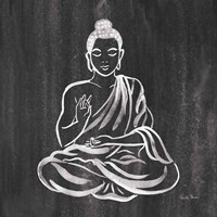 Buddha Gray Fine Art Print