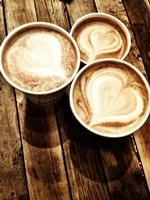 Love in a Latte Fine Art Print