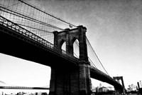 Bridge of Brooklyn BW I Fine Art Print