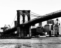 Bridge of Brooklyn BW II Fine Art Print