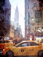 Rainy Madison Avenue Fine Art Print