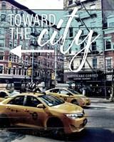 Toward The City Fine Art Print