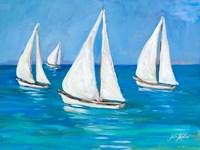 Sailboats I Fine Art Print