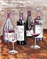 Drink At The Wine Bar Fine Art Print