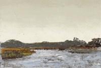 Along the Water (Neutral) Fine Art Print