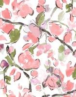 Spring Floral In Pink Fine Art Print