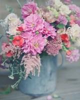 Spring Floral Arrangements Fine Art Print