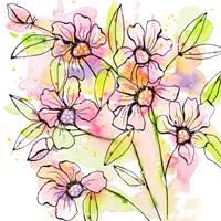 A Splash of Beauty Florals Fine Art Print
