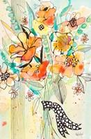 Bursting Wildflower Bouquet Fine Art Print