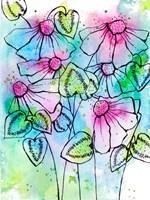 Vibrant Bursts and Blossoms Fine Art Print