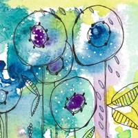 Splash of Watercolor Floral Fine Art Print