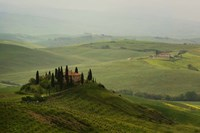 Tuscan Villa Framed Print
