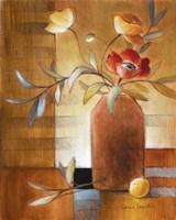 Afternoon Poppy Still Life II Fine Art Print