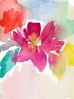 Modern Fleur I Framed Print