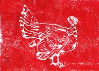 Country Turkey Framed Print