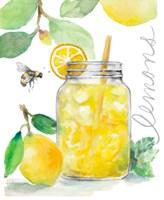 Bee-Friend The Lemons and Lemonade Fine Art Print