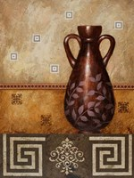 Mahogany Urn II Fine Art Print