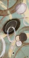 Inside Turquoise I Framed Print