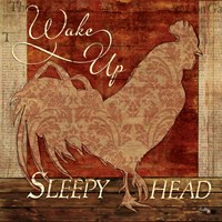 Wake Up Sleepy Head Framed Print