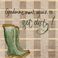 Get Dirty Fine Art Print