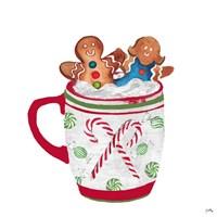 Gingerbread and a Mug Full of Cocoa I Framed Print