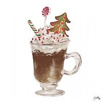 Gingerbread and a Mug Full of Cocoa IV Framed Print