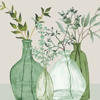 Green Serenity Accents Fine Art Print