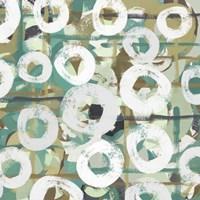 White Spheres I Framed Print
