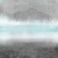 Foggy Loon Lake II Fine Art Print
