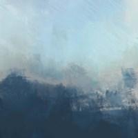 Ocean Fog II Framed Print