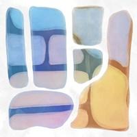 Color Litho I Framed Print