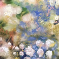 Flower Impression I Framed Print