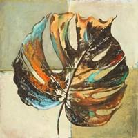 Contemporary Leaves I Framed Print