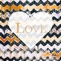 Love Zig Zag Fine Art Print