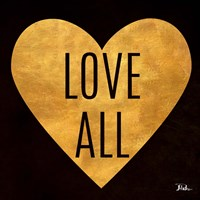 Love and Live I Framed Print