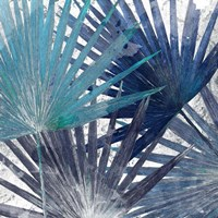 Blue Organic II Fine Art Print