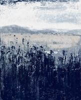 Indigo Contemporary I Framed Print
