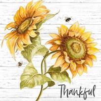 Harvest Gold Sunflower Bouquet Fine Art Print