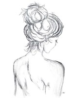 Messy Bun II Fine Art Print