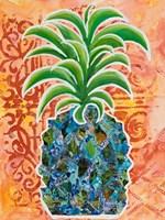 Pineapple Collage I Framed Print