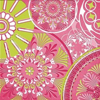 Pink Bubblegum II Framed Print