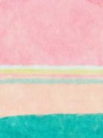Rectangle Beach Blocks of Color I Fine Art Print