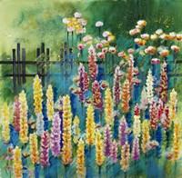 Garden Of Many Colors Fine Art Print