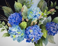 Hydrangeas in Blue Fine Art Print