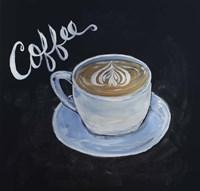 Chalk Coffee Fine Art Print