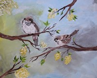 His Eyes Are on the Sparrows Fine Art Print