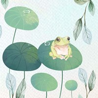 Rainforest Ribbit Fine Art Print