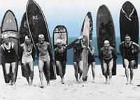 Surf's Up, Boys 1922 Fine Art Print